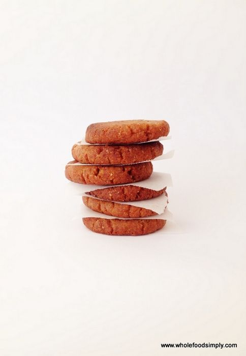 Wholefood simply ginger cookies